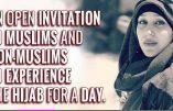 Femmes et fillettes non-musulmanes invitées à porter le voile pendant un jour (et plus si affinités ?)