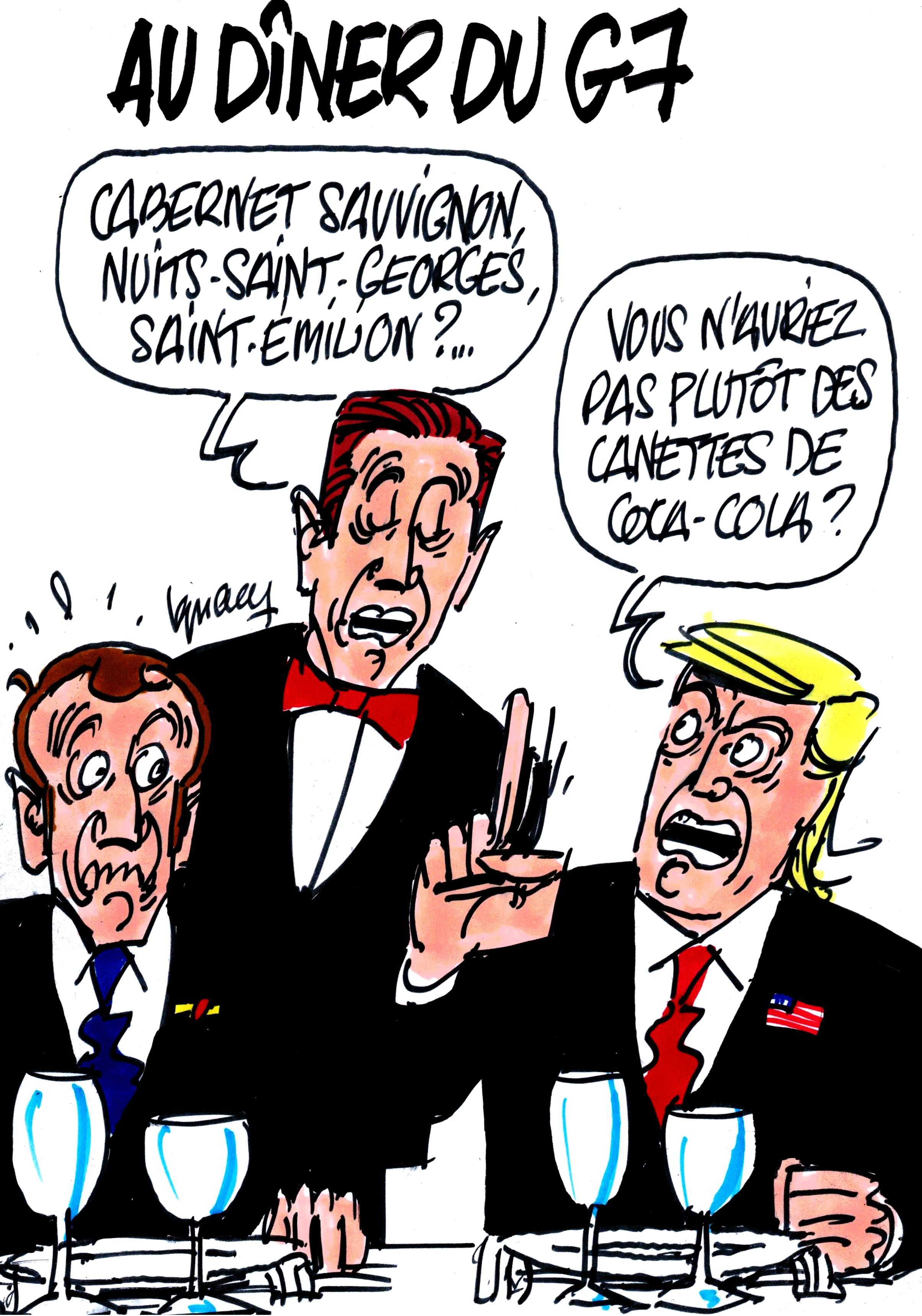 Ignace - Au dîner du G7