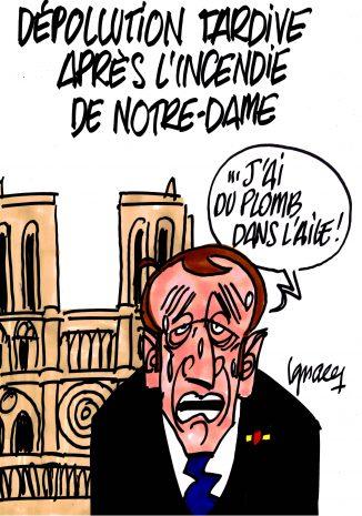 Ignace - Dépollution tardive après l'incendie de Notre-Dame
