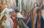 La cérémonie du sacre du roi de France