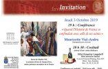 """3 octobre 2019 à Paris – """"Quand l'Histoire de France se confondait avec celle de ses saints"""" (conférence de Mauricette Vial-Andru)"""