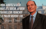 Archives – Chirac, l'immigration, le bruit et l'odeur