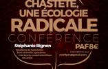 """19 octobre 2019 à Lyon – Conférence de Stéphanie Bignon : """"La chasteté, une écologie radicale"""""""