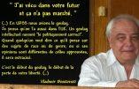Mort du dissident russe anti-soviétique Vladimir Boukovsky:  il comparait l'UE à l'URSS