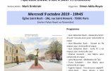 9 octobre 2019 – Concert au profit de l'installation d'une statue de ste Jeanne d'Arc à Saint Pétersbourg