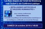 La franc-maçonnerie, promotrice de l'intelligence artificielle