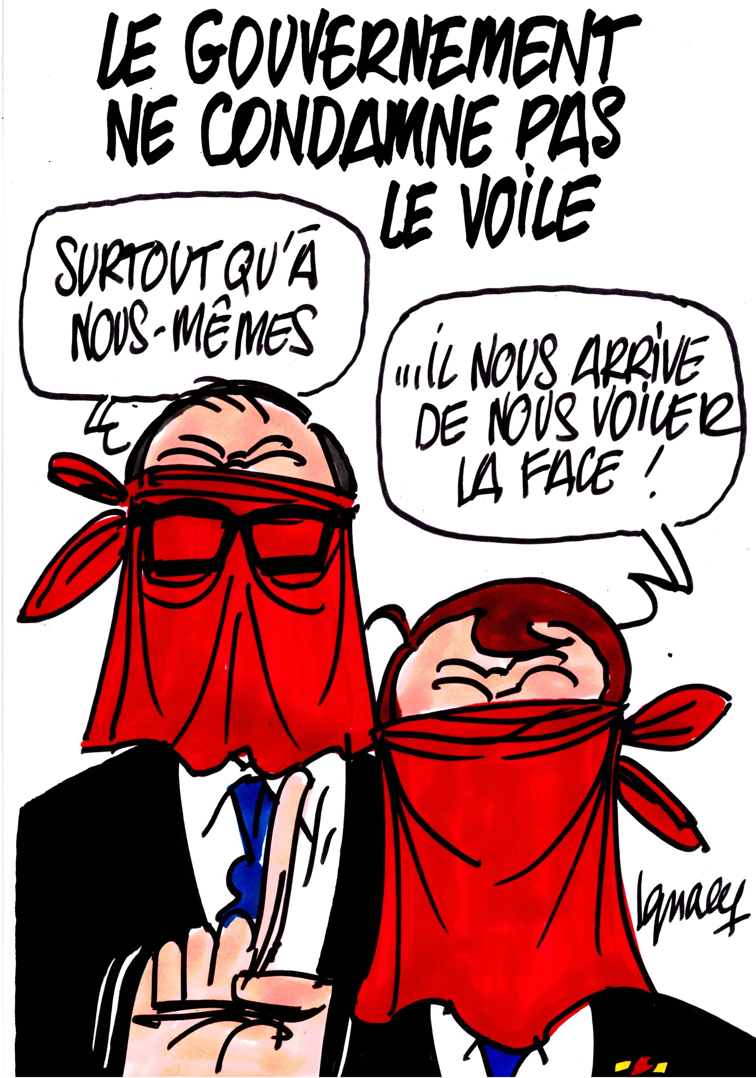 Ignace - Le gouvernement ne condamne pas le voile