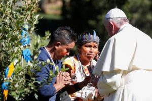 Rites païens au Vatican, la salle de presse vaticane entre embarras et mensonges