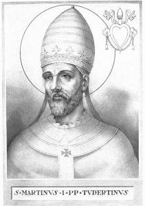 Mardi 12 novembre 2019 – Saint Martin 1er, pape et martyr – « Réjouissez-vous quand vous avez part aux souffrances du Christ »