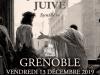 13 décembre 2019 à Grenoble – Conférence « De la question juive – Synthèse »