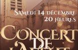 14 décembre 2019 – Concert de l'Avent à Saint-Nicolas-du-Chardonnet