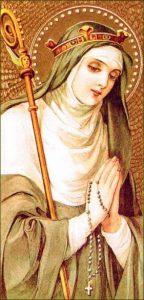 Samedi 16  novembre 2019 – Sainte Gertrude – Vierge, « Dieu se ménage dans ses saints une agréable demeure »
