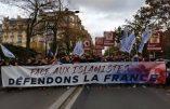 La manifestation contre l'islamisme n'a pas su mobiliser