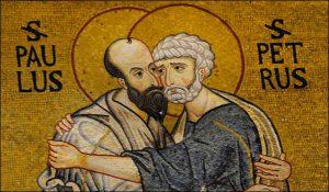 Lundi 18 novembre 2019 – La Dédicace des Basiliques des saints Apôtres Pierre et Paul