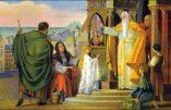 Jeudi 21 novembre 2019 – La Présentation de la Bienheureuse Vierge Marie