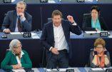 L'eurodéputé Yannick Jadot (EELV) ridiculisé au parlement européen
