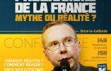 """18 janvier 2020 à Brive-la-Gaillarde – """"L'assassinat programmé de la France : mythe ou réalité ?"""" (conférence d'Alain Escada)"""