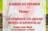 """1er février 2020 à Rennes – """"La féminité, un grand moyen d'apostolat"""""""