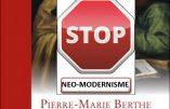 La Fraternité de la Transfiguration dit NON au livre-thèse de l'abbé Pierre-Marie BERTHE