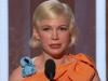 Le discours pro-avortement de l'actrice Michelle Williams lors de la remise des Golden Globes