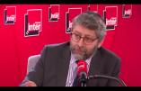 Le Grand Rabbin de France aimerait envoyer Mélenchon chez un expert psychiatrique en raison de ses critiques du CRIF…