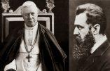"""Saint Pie X contre le sionisme : """"Les juifs n'ont pas reconnu notre Seigneur, c'est pourquoi nous ne pouvons pas reconnaître le peuple juif."""""""