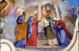 Dimanche 2 février 2020 – IV° Dimanche Après l'Epiphanie – Présentation de Jésus et Purification de la Bienheureuse Vierge Marie