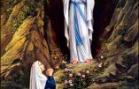 Mardi 11 février 2020 – Apparition de la Bienheureuse Vierge Marie Immaculée à Lourdes