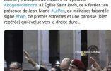 Le tweet que Frédéric Martel a effacé depuis nos réactions