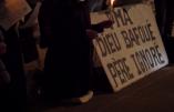 Rassemblement contre la PMA à Montpellier