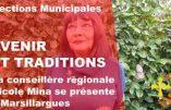 Municipales 2020 à Marsillargues – Nicole Mina (Liste Avenir et Traditions), candidate du camp national