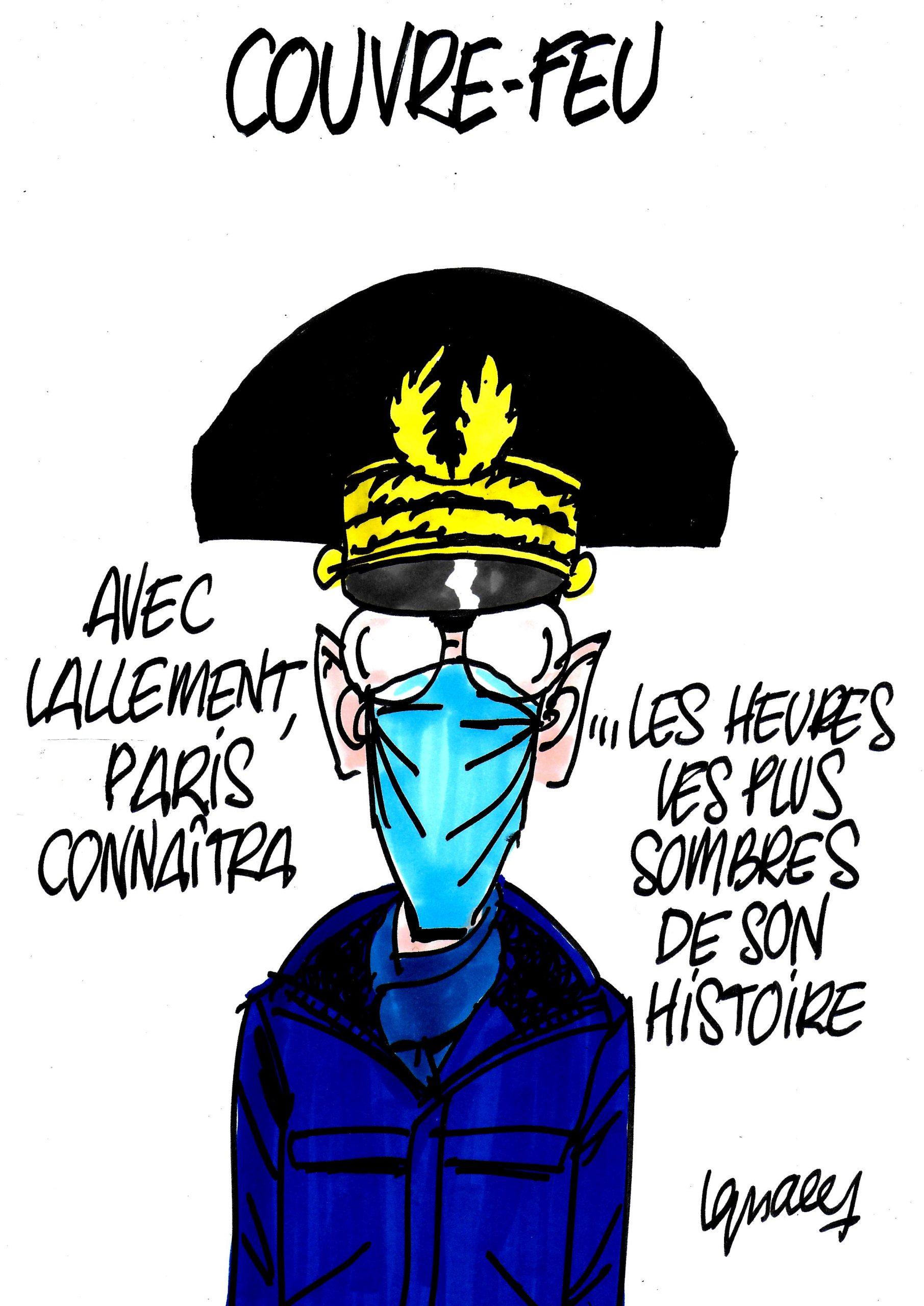 Ignace - Couvre-feu à Paris