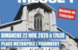 22 novembre 2020 à Chambéry – Nous voulons la Messe !