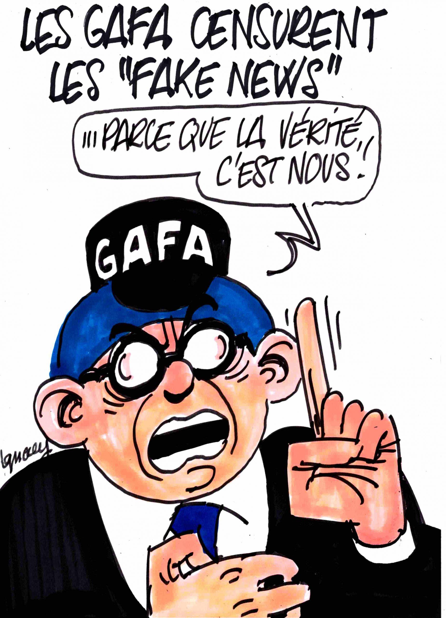 """Ignace - Les Gafa censurent les """"fake news"""""""