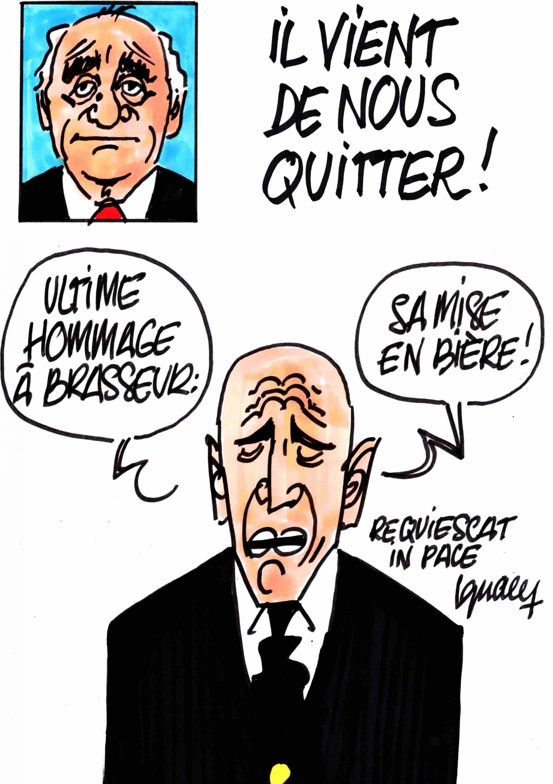 Ignace - Mort de Claude Brasseur