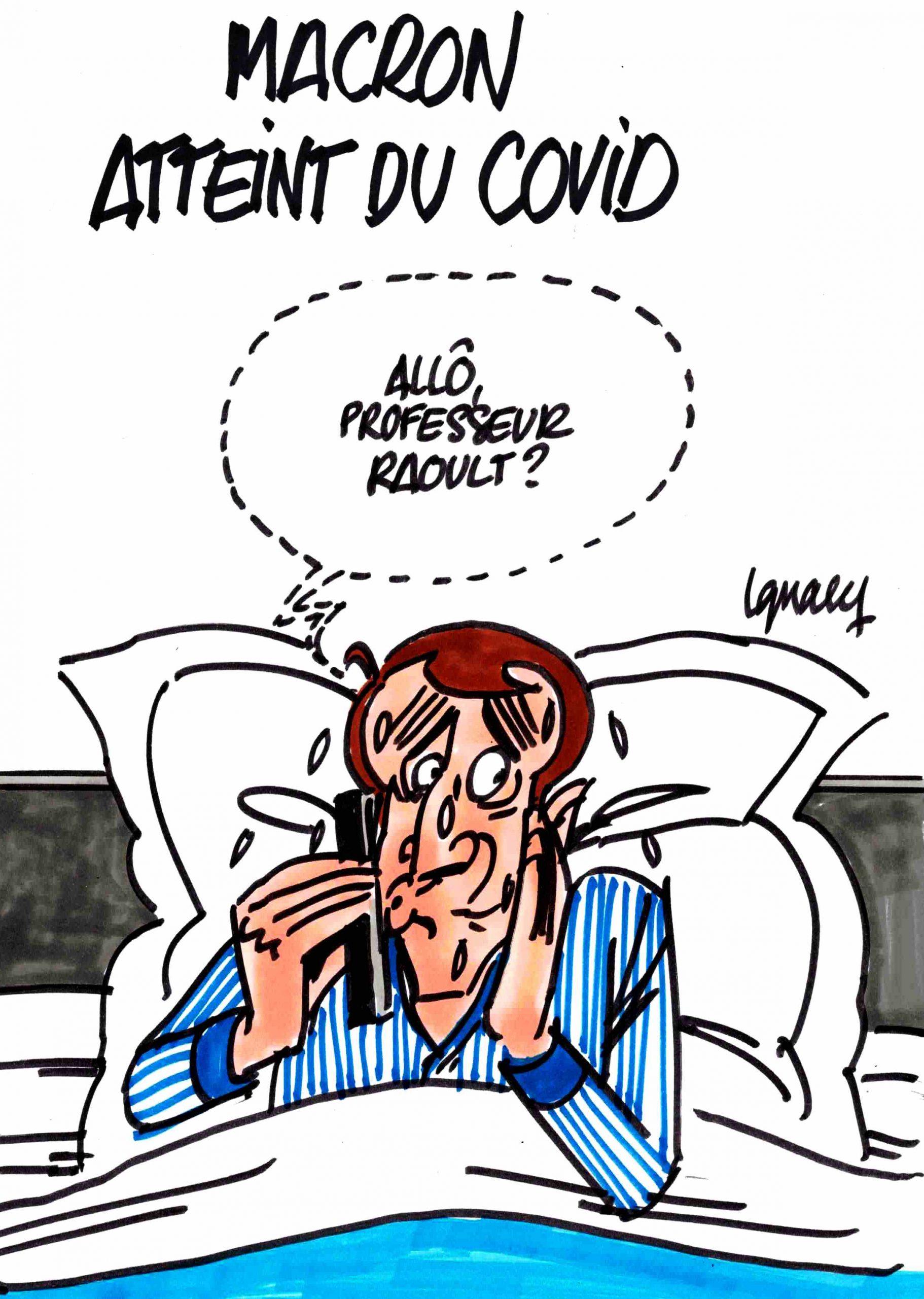 Ignace - Macron atteint du covid