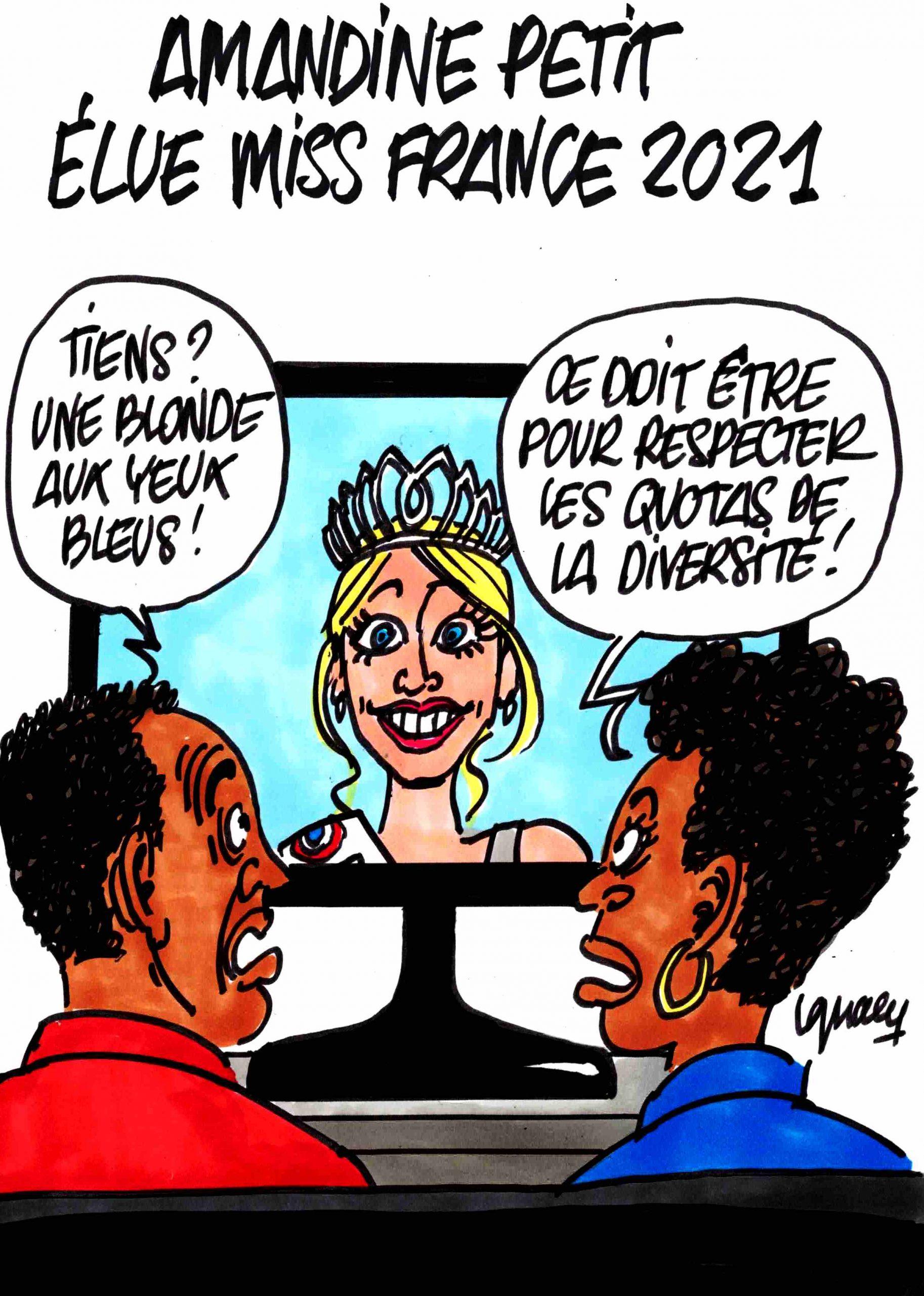 Ignace - Amandine Petit élue Miss France 2021