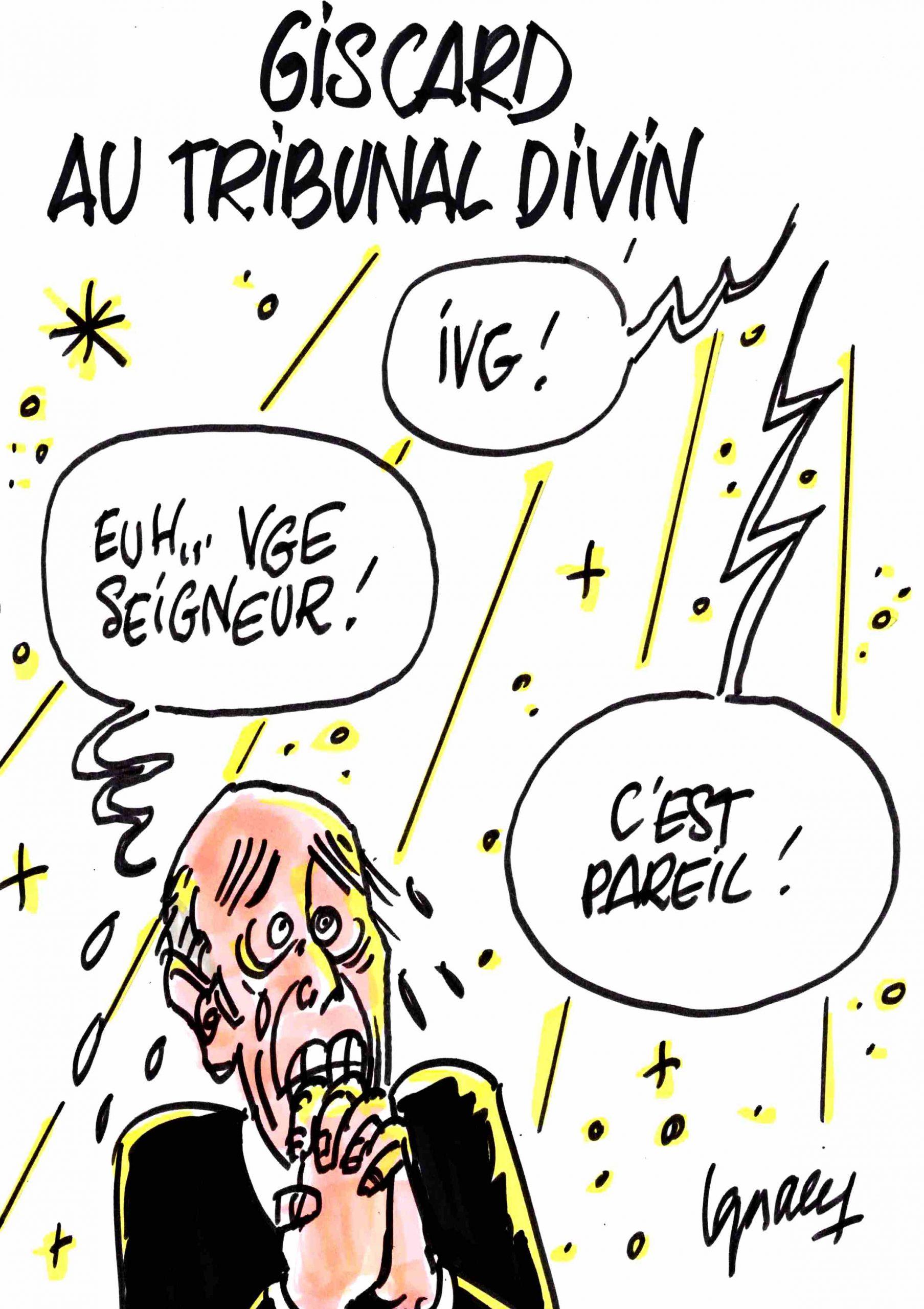Ignace - Giscard au Tribunal divin