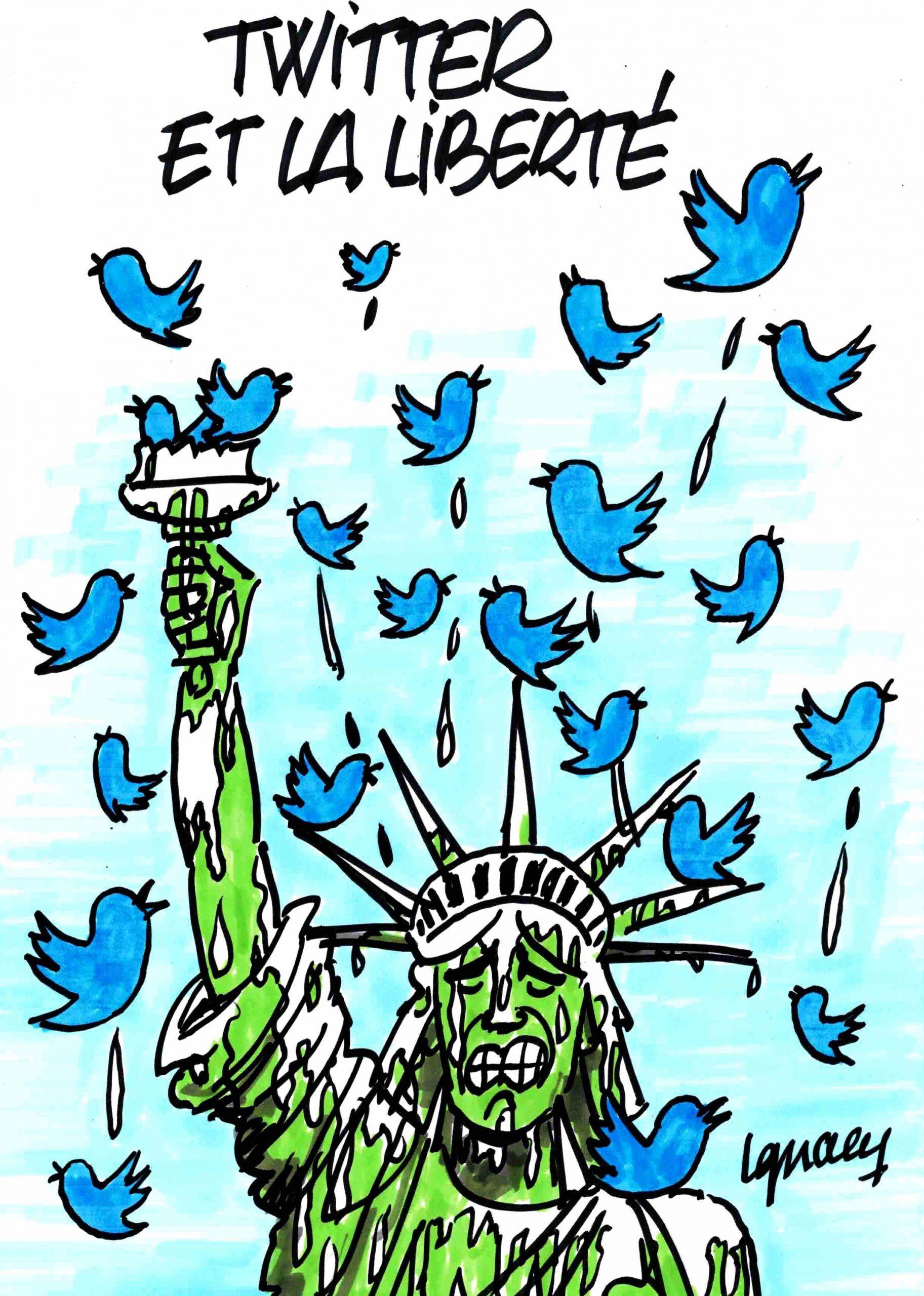 Ignace - Twitter et la liberté