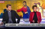 Le niveau de la télévision en matière de religion résumé en une photo