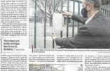 La presse locale signale que des enfants tombent littéralement de fatigue à cause du masque imposé à l'école