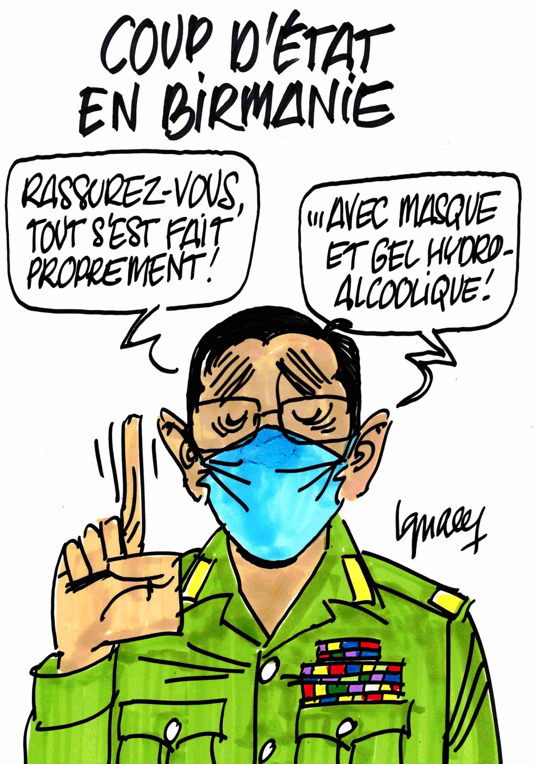 Ignace - Coup d'état en Birmanie