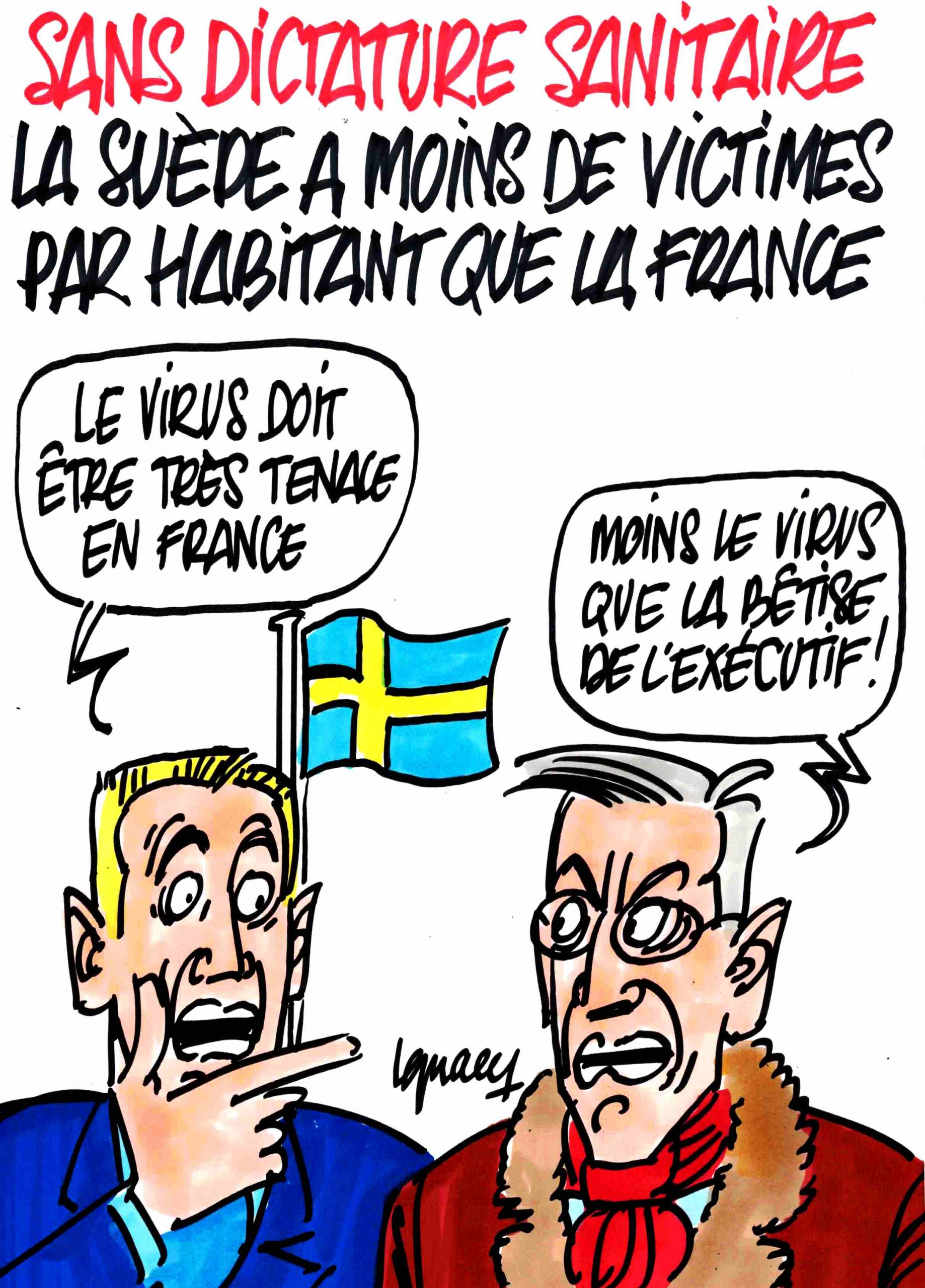 Ignace - La Suède sans dictature sanitaire