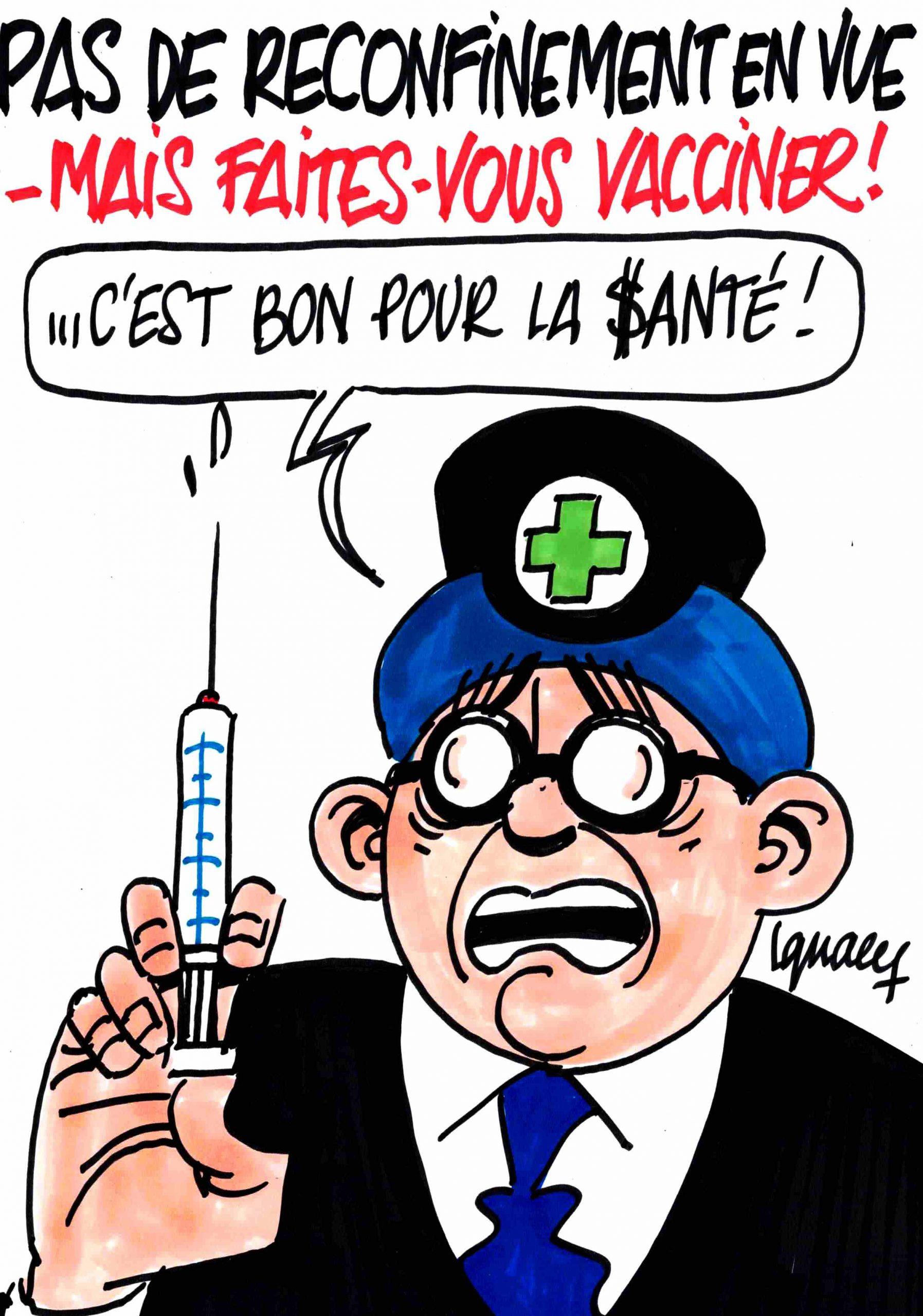 """Ignace - """"Faites-vous vacciner """""""