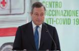 Le gouvernement italien veut sanctionner le personnel soignant qui refuse de se faire vacciner contre le Covid