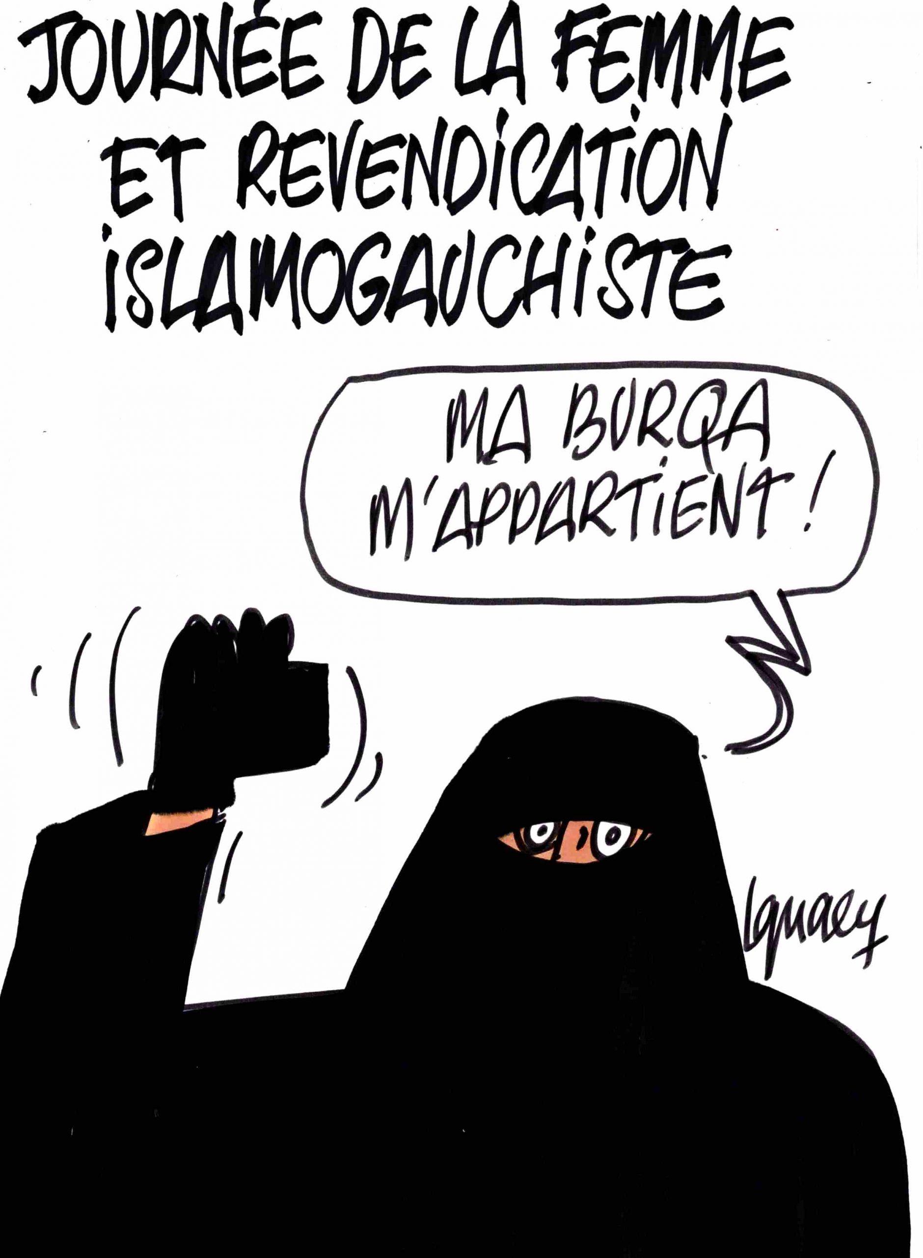 Ignace - Journée de la femme et islamogauchisme