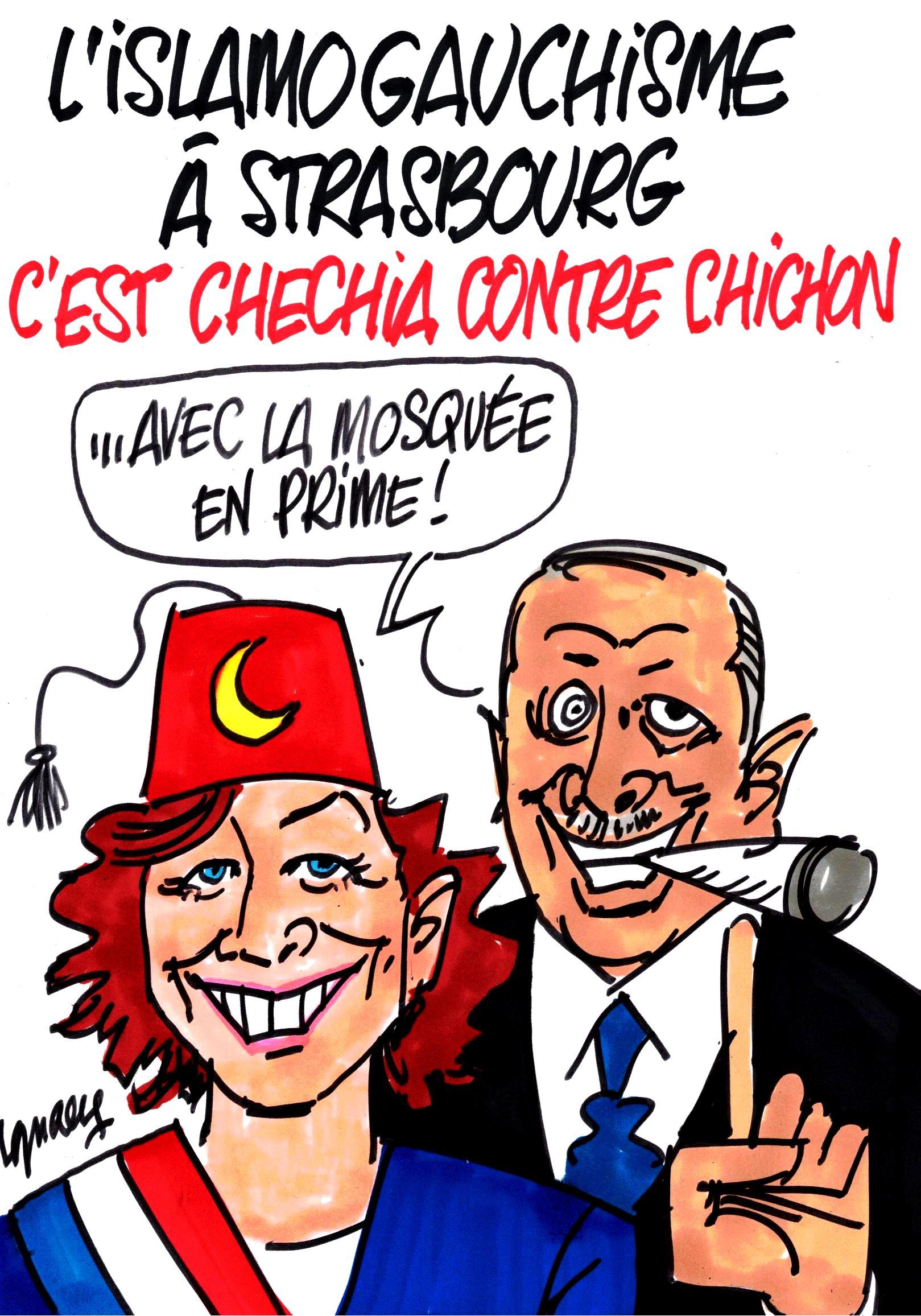 Ignace - Islamogauchisme à Strasbourg