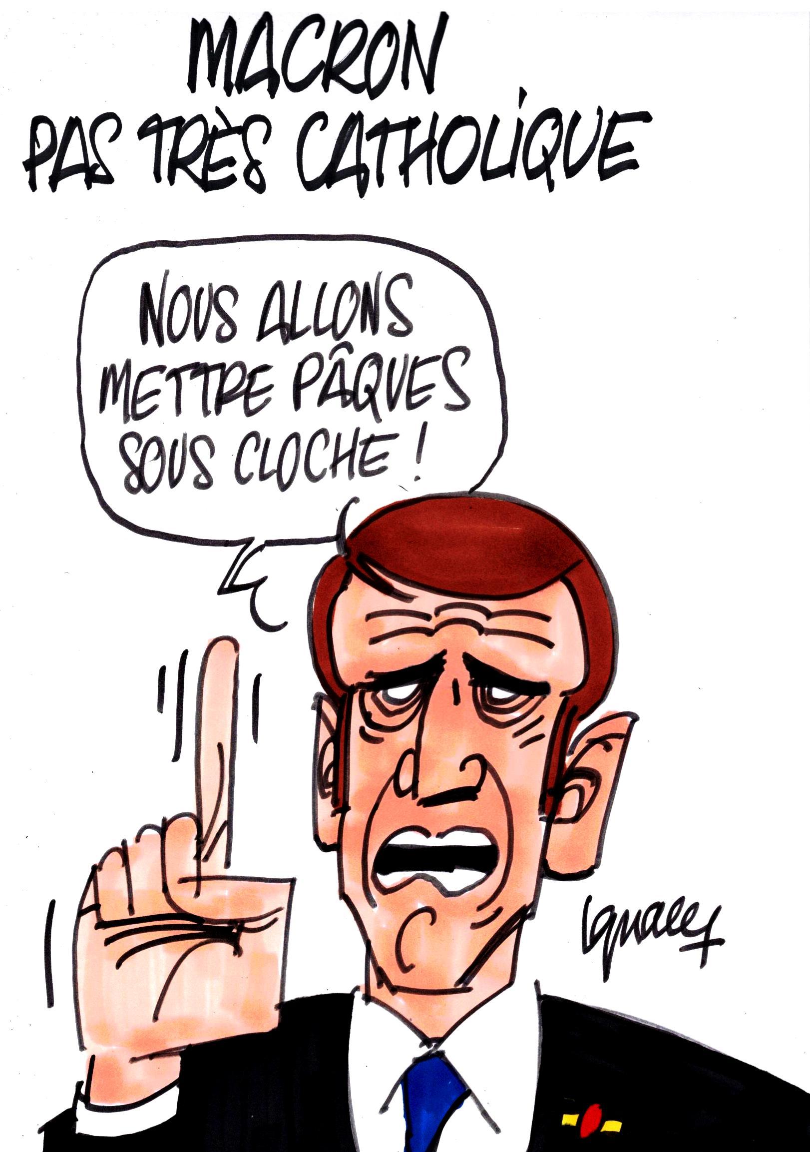 Ignace - Macron pas très catholique