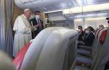 Retour d'Irak : concile Vatican II et migration comme droit humain restent les axes idéologiques du pape François