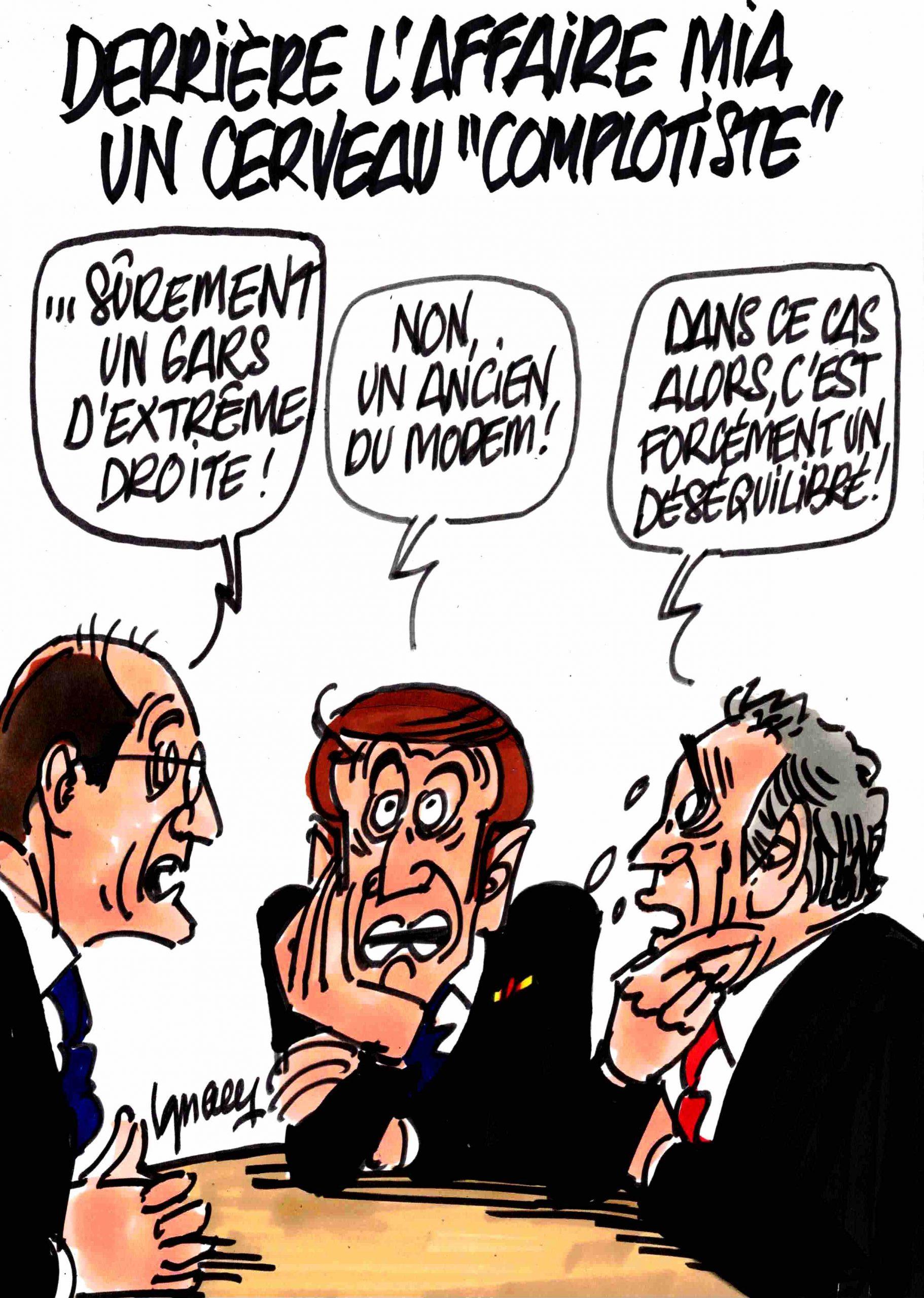 """Ignace - Derrière l'affaire Mia un cerveau """"complotiste"""""""